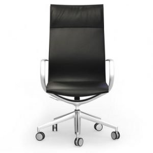 Curva Executive Leather Hi-Back Chair